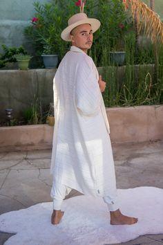 Limited Edition Men's White Haori Kimono Festival Jacket | Etsy