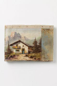 Original Still Life Clutch, Mountain Scene - Anthropologie.com