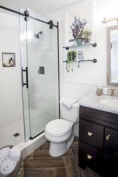 Small Bathroom Ideas: Amazing Master Bathroom Decor Ideas And Remodel Bathroom Design Small, Modern Bathroom, Bathroom Designs, Small Bathrooms, Master Bathrooms, Small Bathtub, Narrow Bathroom, Custom Bathrooms, Boho Bathroom