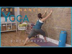 ▶ Pregnancy Yoga: Birth Preparation - YouTube