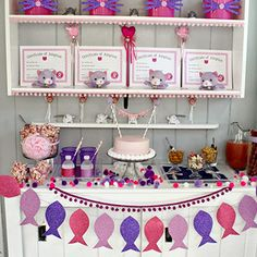 This cat theme birthday party for 5-year-old Aubrey is seriously cute and seriously thrifty! Mom Ashley planned the party using supplies she had on-hand, great finds from the dollar store, and free cat adoption printables – all based on Aubrey's request for a pink and ...