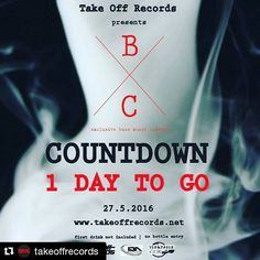 #Repost @takeoffrecords with @repostapp  Bass music friends. 1 DAY TO GO!!!! Marked your calender for this Friday 27th May  exclusive bass music culture awaits you! BazzAvangers X Crush known as B x C #KL #BassMusic #BassMusicCulture #garage #2steps #drumnbass #dnb #jungle #dub #ragga #reggae #hiphop #Turntablism #mixcloud #soundcloud by crush_bazzavengers