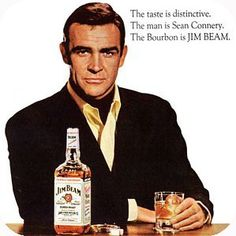Jim Beam Ad (Sean Connery) 1967