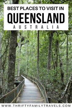 Planning your Queensland holidays but not sure where to go? This guide covers 23 of the best places to visit in Queensland from the Gold Coast to the far north. Australia Travel Guide, Visit Australia, Queensland Australia, Western Australia, New Zealand Itinerary, New Zealand Travel Guide, Airlie Beach, Travel Guides, Travel Tips