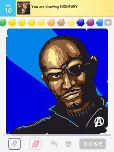 My Nick Fury from the Avengers