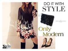 """""""SHEINSIDE III-10"""" by irmela ❤ liked on Polyvore featuring мода"""