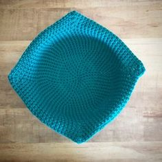 Crochet Microwaveable Bowl Cozy