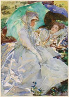 Sargent, Simplon Pass: Reading, 1911, watercolor