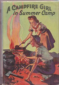CAMPFIRE GIRL in SUMMER CAMP Jane L. Stewart