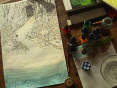 The Coral Cave (Part by Atelier Sentô, via Behance
