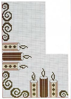 Thrilling Designing Your Own Cross Stitch Embroidery Patterns Ideas. Exhilarating Designing Your Own Cross Stitch Embroidery Patterns Ideas. Xmas Cross Stitch, Cross Stitch Borders, Cross Stitching, Cross Stitch Embroidery, Embroidery Patterns, Cross Stitch Patterns, Christmas Border, Christmas Cross, Knitting Paterns