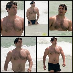 NEW: Henry Cavill shows off that Superman physique in Miami.  Via @JustJared: http://www.justjared.com/photo-gallery/3745485/henry-cavill-shirtless-swim-in-miami. #henrycavill #shirtless #beachbod #superman #manofsteel #batmanvsuperman #justiceleague
