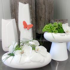 Ganz edel für das Fest  #Valentino #Tischdeko #Orchideen #Floristik #finart #floralart