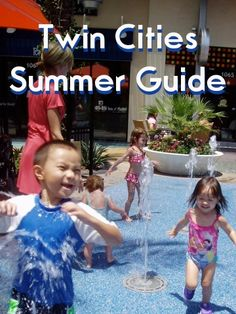 Over 60 Splash Pad Parks, plus swimming pools and more summer fun places in and around the Twin Cities!