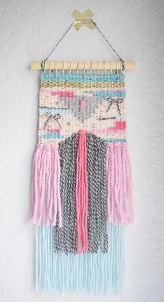 Wall Hanging For Kids Inspiration 54 Ideas Tapestry Weaving, Loom Weaving, Hand Weaving, Weaving For Kids, Gallery Wall Layout, Butterfly Frame, Boho Nursery, Estilo Boho, Woven Wall Hanging