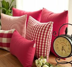 Deliciously at Home - Decor - Organization - Wellness: Decoração com almofadas para todos os ambientes