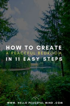 The ultimate guide to help you transform your bedroom into a peaceful retreat so you can have a better sleep! Learn everything, from decoration to tricks.