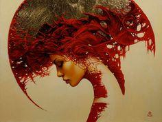 Wyniki Szukania w Grafice Google dla http://mayhemandmuse.com/wp-content/uploads/2012/04/art-woman-shapes-patterns-fantasy-gothic-red-portrait-painting-surrealism-headdress.jpg