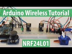 Arduino Wireless Communication – NRF24L01 Tutorial