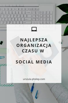 Jak organizować czas w mediach społecznościowych, jako biznes lub bloger? #socialmedia #socialmediamarketing Pinterest Pin, Inspiration, Instagram, Design, Organization, Biblical Inspiration, Inspirational, Inhalation