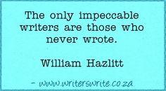Quotable - William Hazlitt - Writers Write Creative Blog