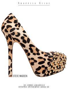 Mujer - Zapato - Steve Madden - El Palacio de Hierro - El Libro Amarillo Otoño Invierno 12/13