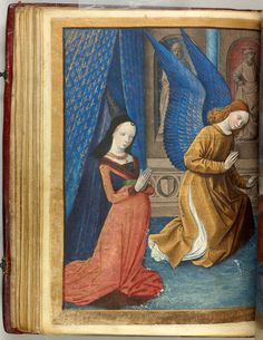 Virgin Mary: Annunciation | Book of Hours | France, Bourges | ca. 1473 | The Morgan Library & Museum