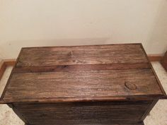 Modern Country Cedar Lined Chest  www.toddsrusticcreations.com