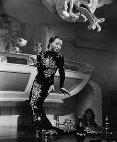 Anna May Wong gets on the bar in Limehouse Blues.