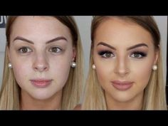 Hooded Eyes Client Makeup Tutorial Ft. Brittney Lee Saunders | Jasmine Hand - YouTube