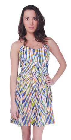 Channel your inner wild child with this perfectly printed Gypsum Dress from @trinaturk!