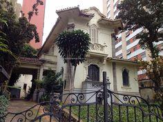 Mansion at district of Bela Vista, Sao Paulo - Brazil