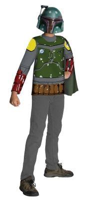 STAR WARS COSTUMES: : Star Wars Boba Fett Child Costume Kit