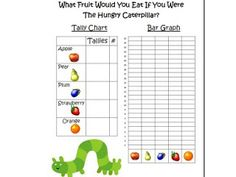 Fun 2B in First: The Very Hungry Caterpillar Linky Party