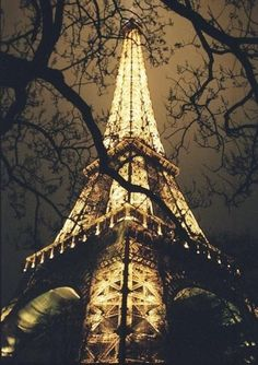 nighttime in Paris