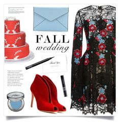 """""""Fall Wedding"""" by marina-volaric ❤ liked on Polyvore featuring Elie Saab, Gianvito Rossi, Guide London, Rebecca Minkoff, NARS Cosmetics, Christian Dior, Urban Decay and fallwedding"""