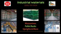 Pacific Bend Inc. is your source for high quality industrial materials. We are experts in Pallet Racking  systems and Mezzanine fabrication. For the month of January we are offering free delivery for orders over $2,000 with 100 miles limit. Don't wait any longer to solve your storage issues .  Call us today. (909) 793-5914