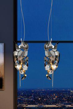 Brand Van Egmond Kelp Fortuna Light by William Brand - Everything But Ordinary Modern Lamps, Contemporary Chandelier, Modern Lighting, Lighting Design, Utrecht, Light Art, Light Decorations, Pendant Lighting, Lightning