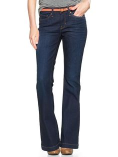 I really want to get a pair of wide leg/flare jeans for fall!