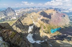 Finally summited Mt. Siyeh in Glacier National Park after 4 summers of trying (bad weather, bears, fire). Worth it. [5760x3840] #nature and Science