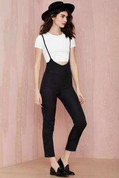 Jayla Overall Jumpsuit | Shop Clothes at Nasty Gal!