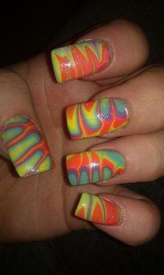 Rainbow Marble.