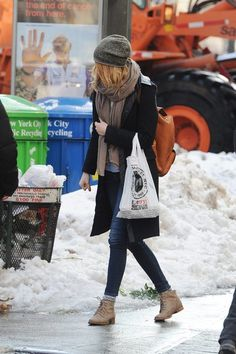 Emma Stone spotted out and about in NYC
