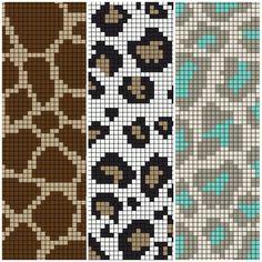 Knitting Charts, Knitting Stitches, Knitting Patterns, Cross Stitching, Cross Stitch Embroidery, Cross Stitch Patterns, Seed Bead Patterns, Beading Patterns, Bead Loom Designs