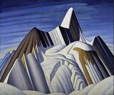 lawren harris art deco painting from 1929
