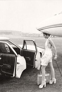 Gotta be an Ossie...Bianca Jagger, New York, 1972