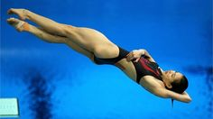 Wu Minxia of #China in the women's 3m #Springboard #diving