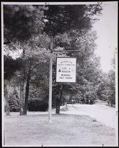 Villages of Newton, MA. Newton Lower Falls. Leo J. Martin Golf Course, Newton Lower Falls