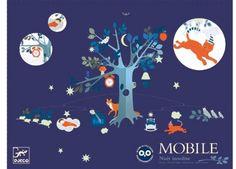 Verspieltes Mobile 'Unusual Night' DJECO   Kindershop Das Kleine Zebra
