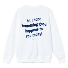 Mental Health Awareness, Good Vibes, Lounge Wear, Life Is Good, Crew Neck, Graphic Sweatshirt, Shit Happens, Sweatshirts, Rich Girl